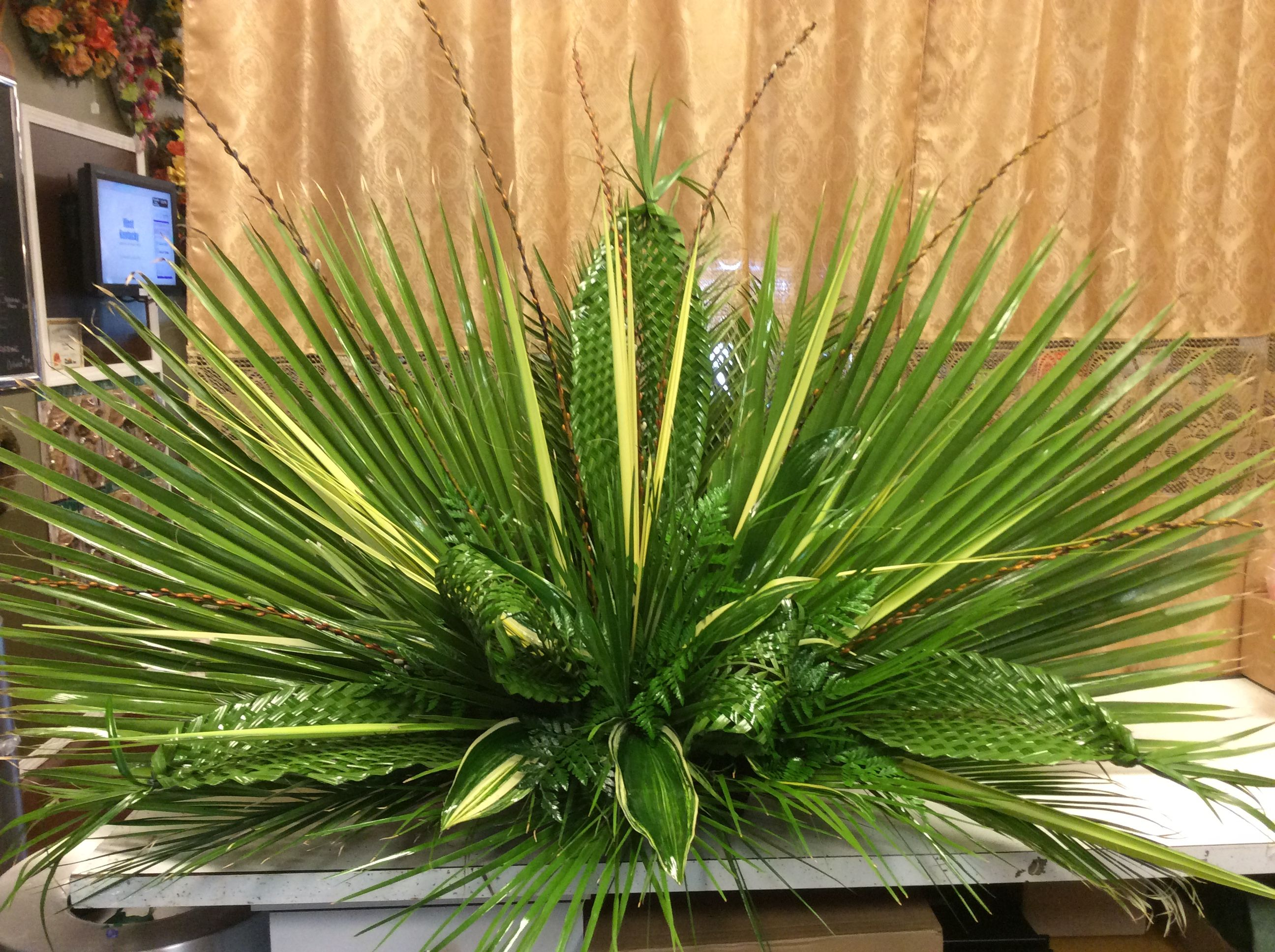 Palm Sunday Arrangement For A Local Church