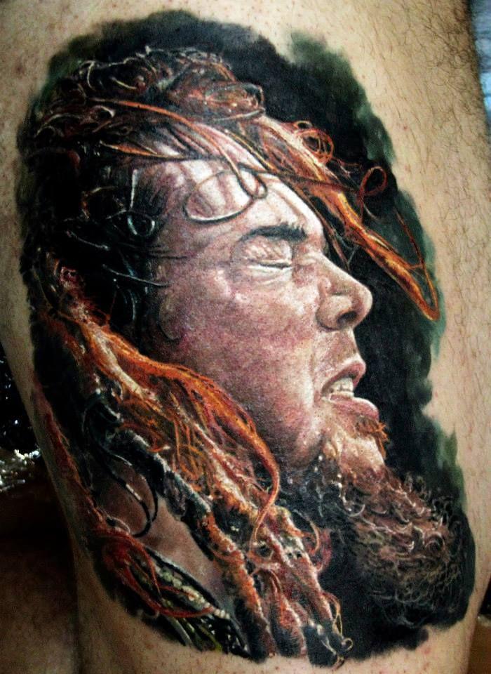 b0a22d47ac Max Cavalera portrait by Iwan Yug