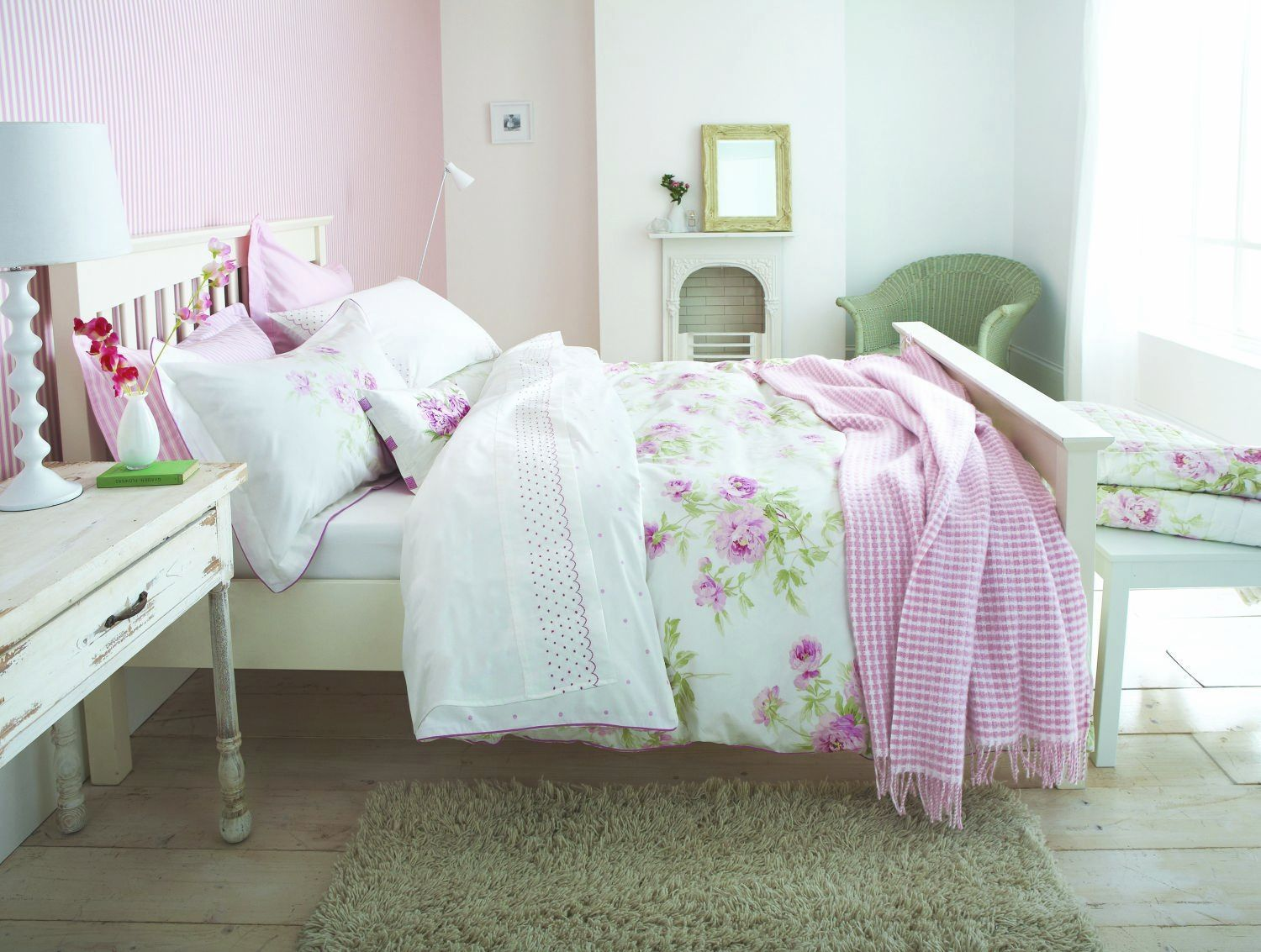 Raspberry Bedroom Ideas: Sanderson Adele Raspberry Quilted Throw Double