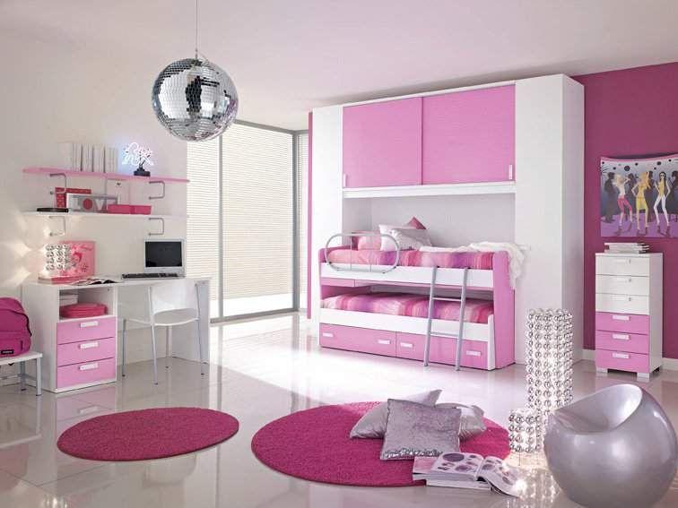 Imagenes para ni as dormitorios rosa para dos ni as dormitorios con estilo imagenes - Dormitorio para ninas ...