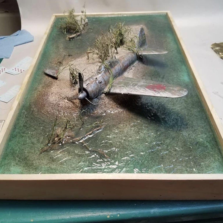 Crashed plane diorama #dioramaideas