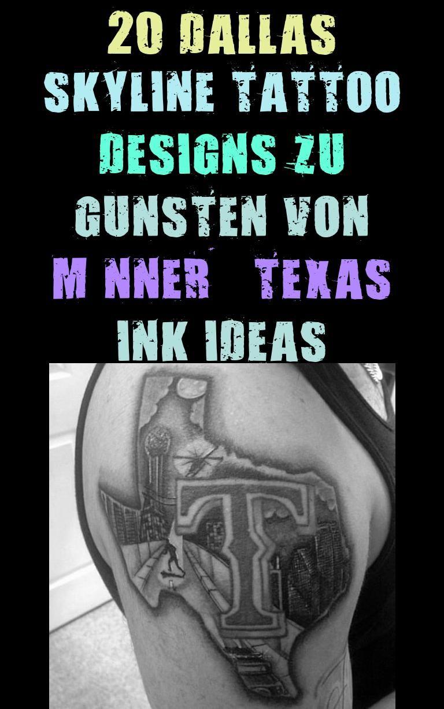 Dallas Skyline Tattoo Designs : dallas, skyline, tattoo, designs, Herren