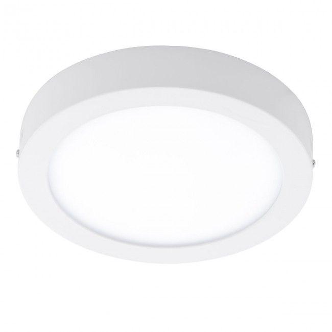 Eglo Connect Fueva C Led Rgb Aufbaulampe 225mm Rund Weiss Bluetooth App Led Led Deckenleuchte Einbau Deckenleuchten