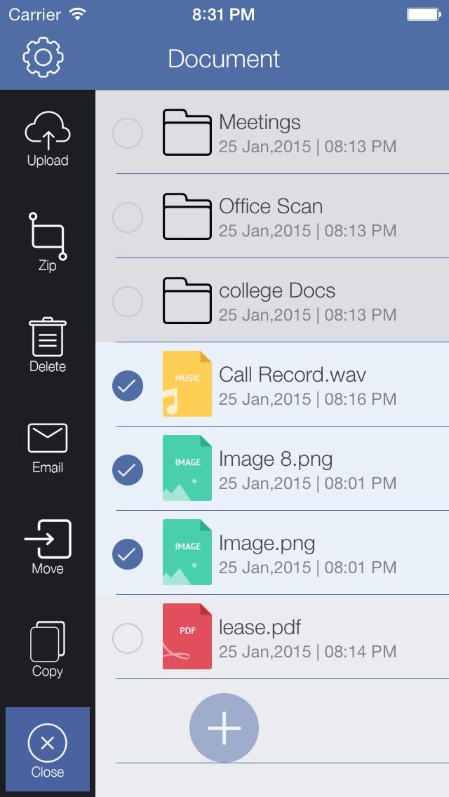 iPhone App File Pro : Professional File Manager and Reader