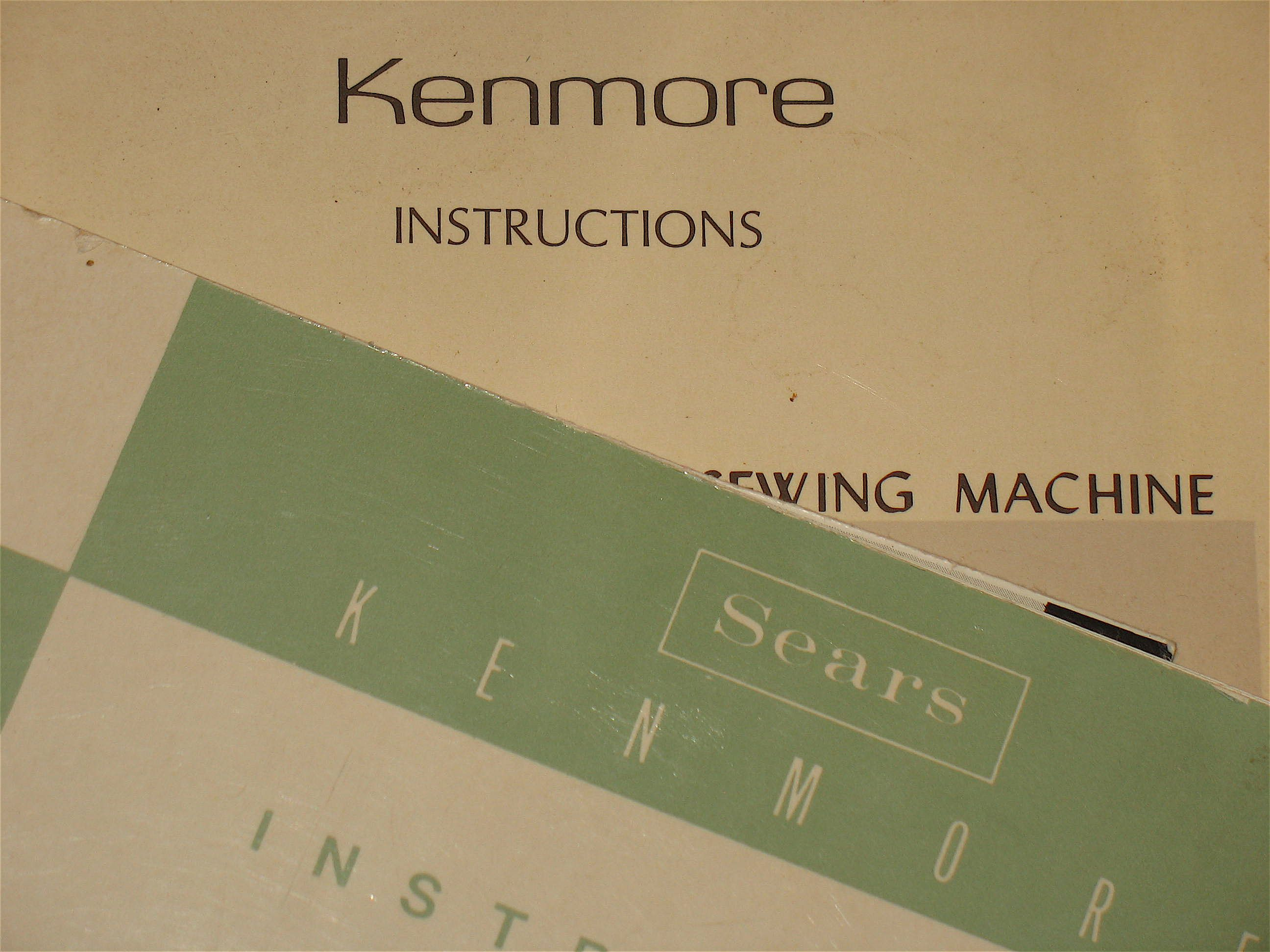 Free Kenmore Sewing Machine Manual!! step by step instructions to access  the manual for FREE on the Sears website :D made my day!!