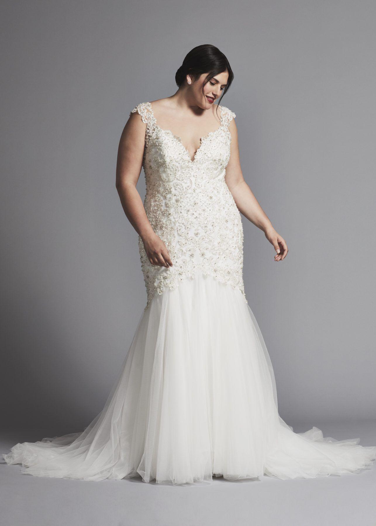 Plus Size Short Wedding Dresses Under 100