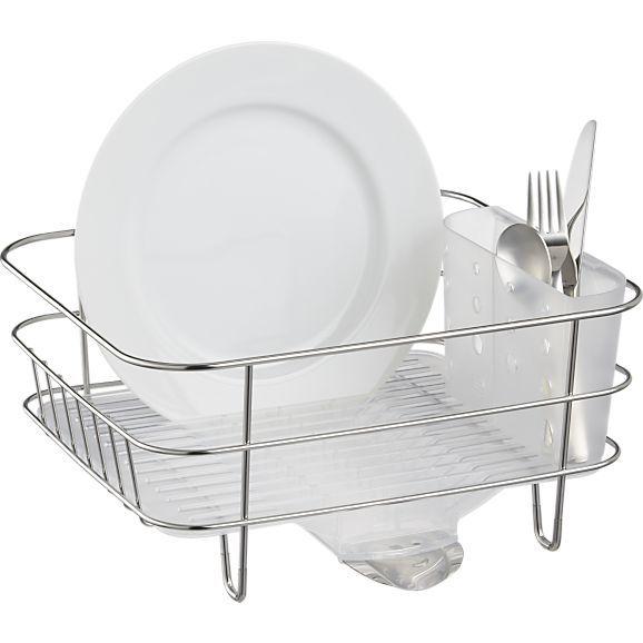 Best Simplehuman® Compact Dish Rack 400 x 300