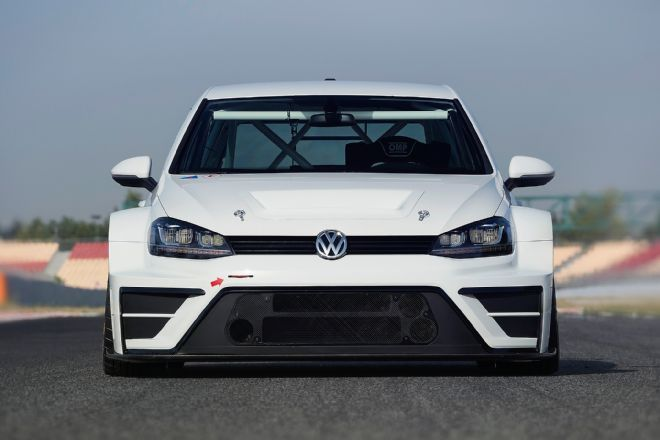 Volkswagen Golf Racing Car Front