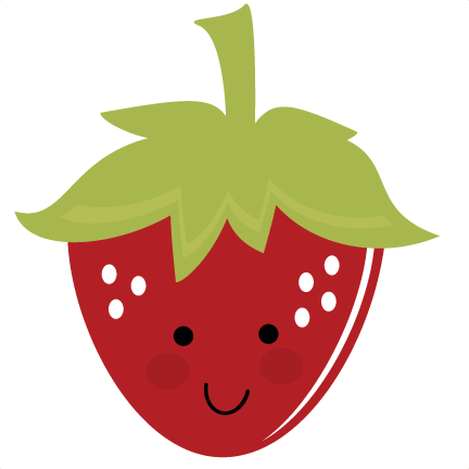 vector download Strawberries clipart strawberry slice ...