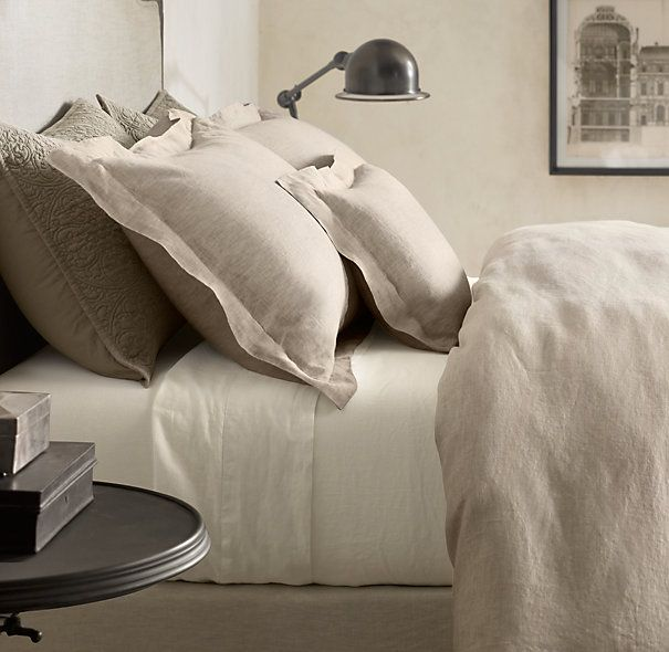 Click to zoom shown in dune featured with vintage washed belgian vintage washed belgian linen bedding collection sheets in ivory duvet cover in dune pillow cases ivory shams and throws dune coverlet dune lightweight publicscrutiny Images