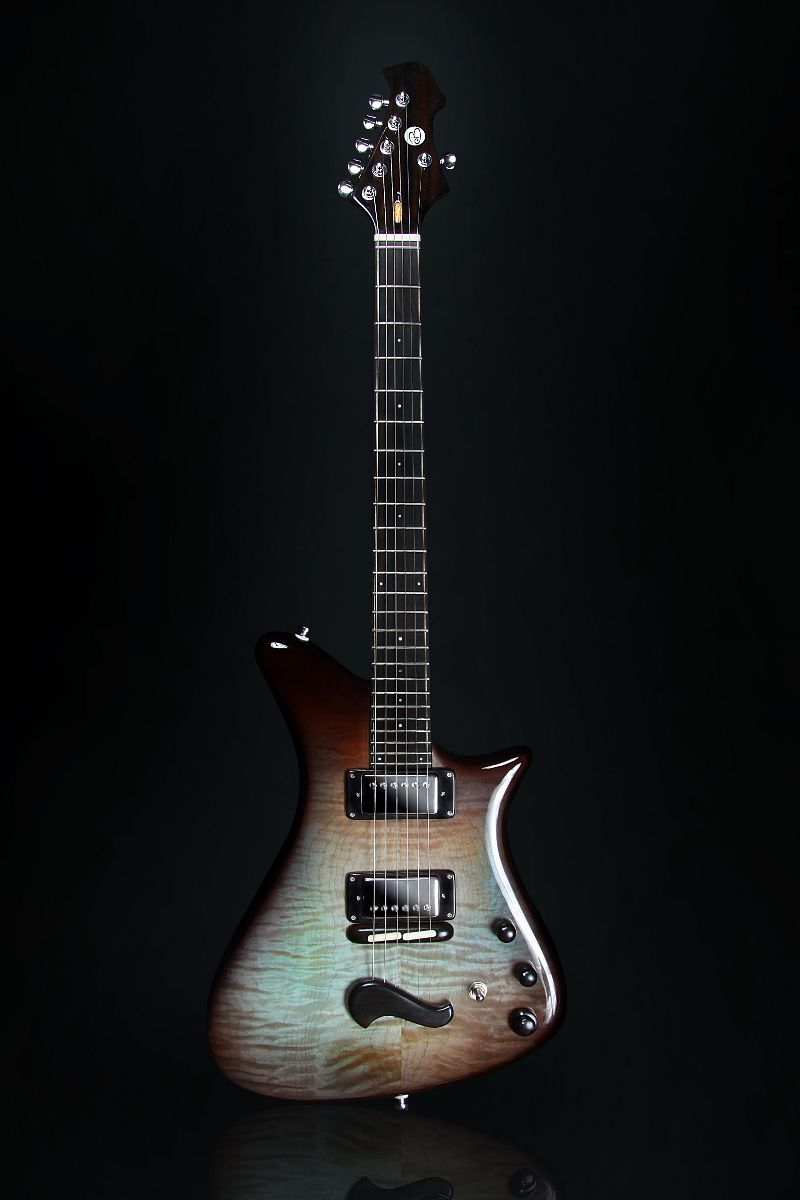Becker Guitars HeadHunter Natural Burst