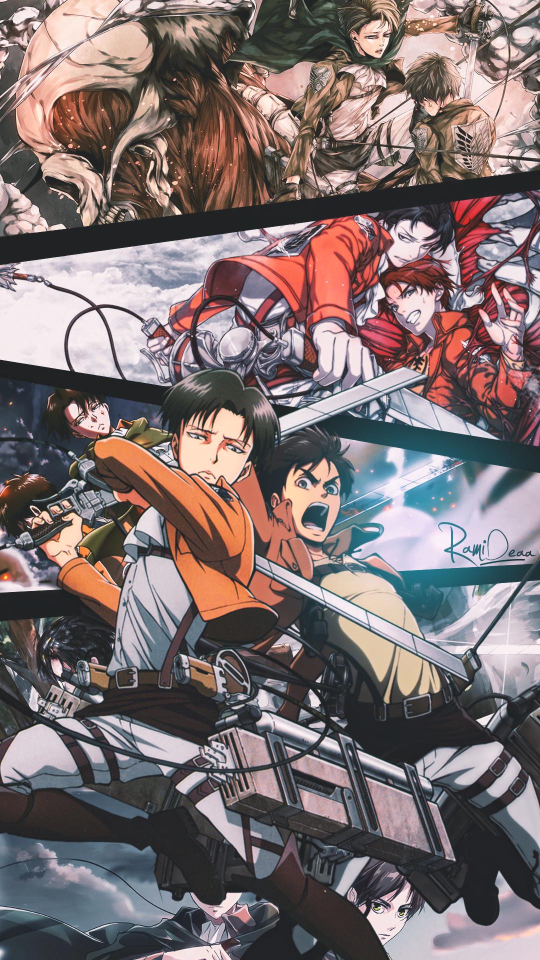 Eren And Levi Attack On Titan Attack On Titan Anime Titans Anime Anime Wallpaper