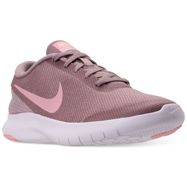 new products f54d1 21211 Nike Women s Flex Experience Run 7 Running Sneakers from Finish Line (210  PEN) ❤ liked on Polyvore featuring shoes, nike shoes, flexible shoes, ...