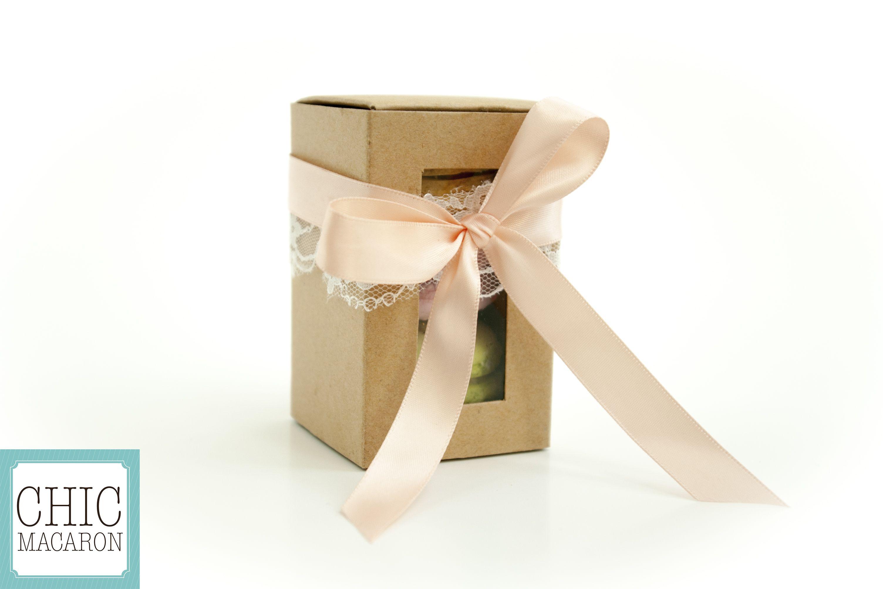 Favor box Bonbonnière | Chic Macaron | Pinterest