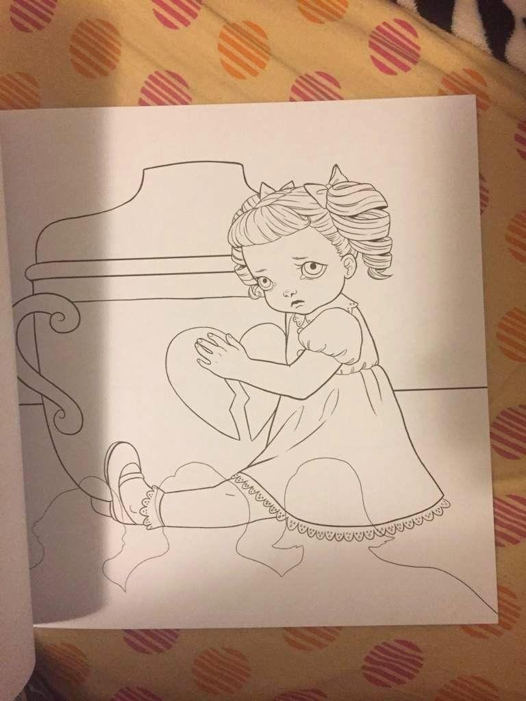 Melanie Martinez Coloring Book Elegant Melanie Martinez Cry Baby Coloring Boo Melanie Martinez Coloring Book Mermaid Coloring Book Millie Marotta Coloring Book