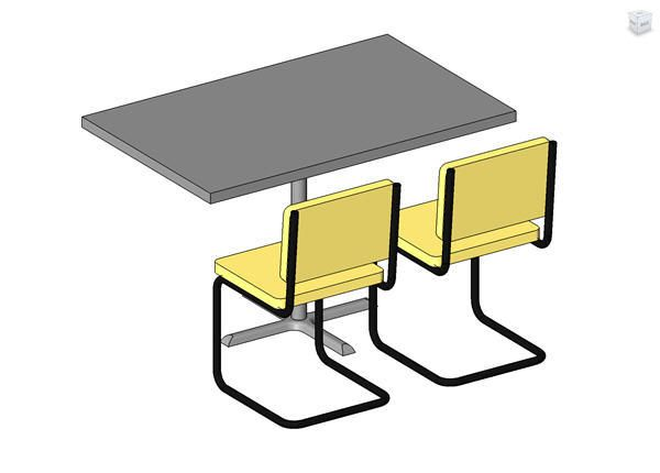 Groovy Dining Table W Chairs Revit Models Table Dining Table Download Free Architecture Designs Remcamadebymaigaardcom