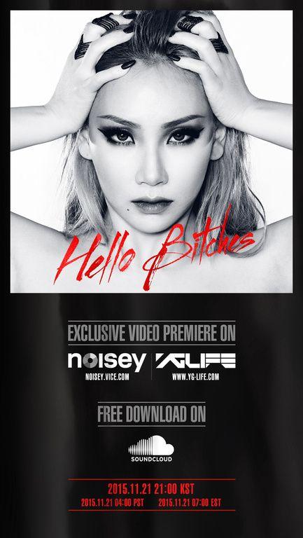 Download [Single] CL (2NE1) – Hello Bitches (MP3 + iTunes