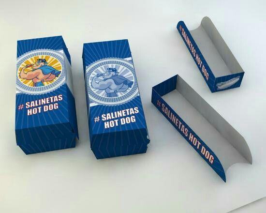 Hot dog packaging