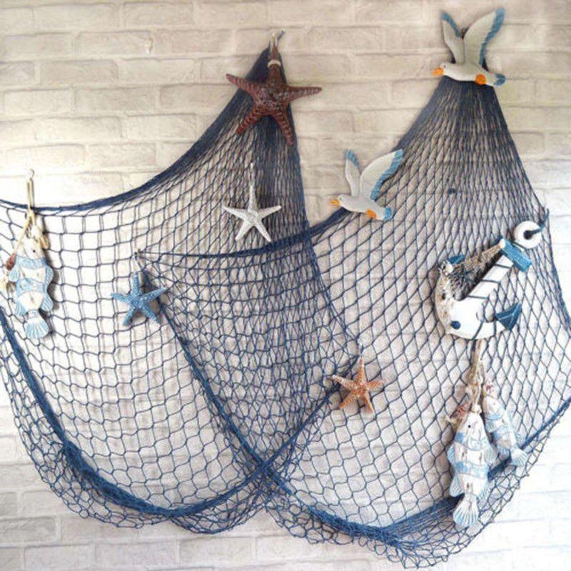 Fishing Nets Ebay Home Furniture Diy Fish Net Decor Nautical Decor Hanging Wall Decor