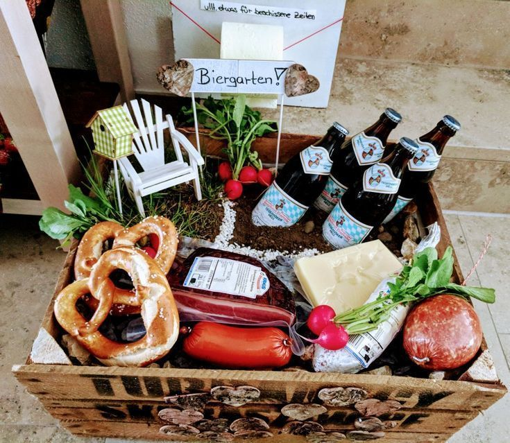 Geschenk zu einem sechzigsten Geburtstag. Biergarten für Männer #lustigegeschenke