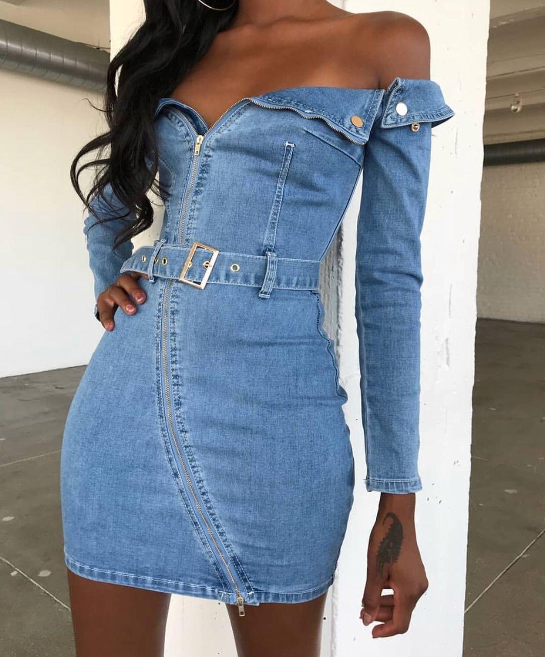 Pinterest Cynthiaatapiaa Denim Mini Dress Fashion Mini Dress Fashion [ 1280 x 1063 Pixel ]