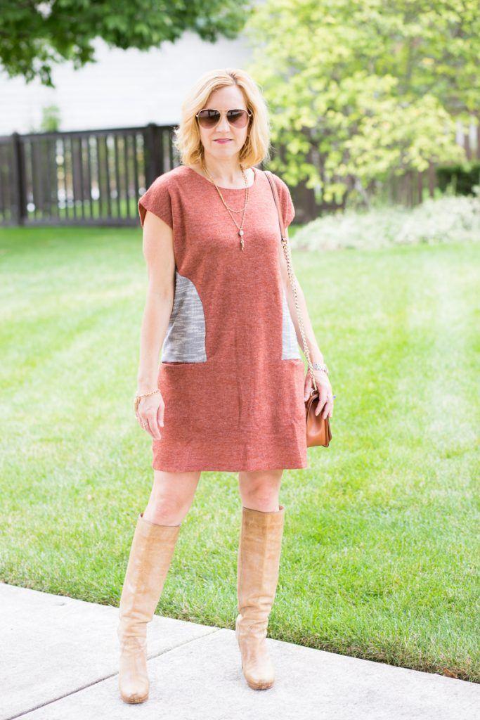 Dressing in Fall Color   Kleider, Strickkleid und Schicke ...