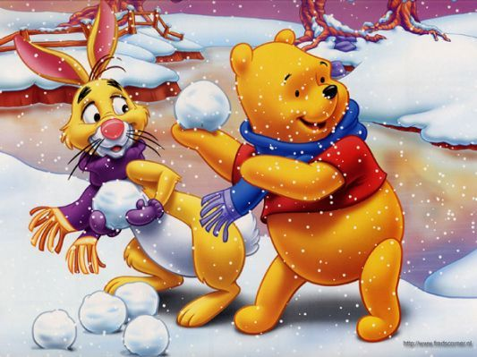 pooh and frends - Winnie the Pooh Disney Christmas Pinterest