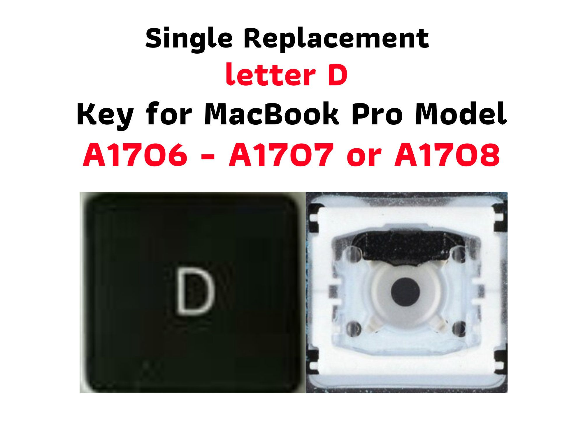 Macbook Pro 2016 17 13 15 A1706 A1707 A1708 Letter D Single Replacement Key W Hinge And Cup Check Hinge By Mackeysplusm Macbook Pro Macbook Macbook Pro 2016
