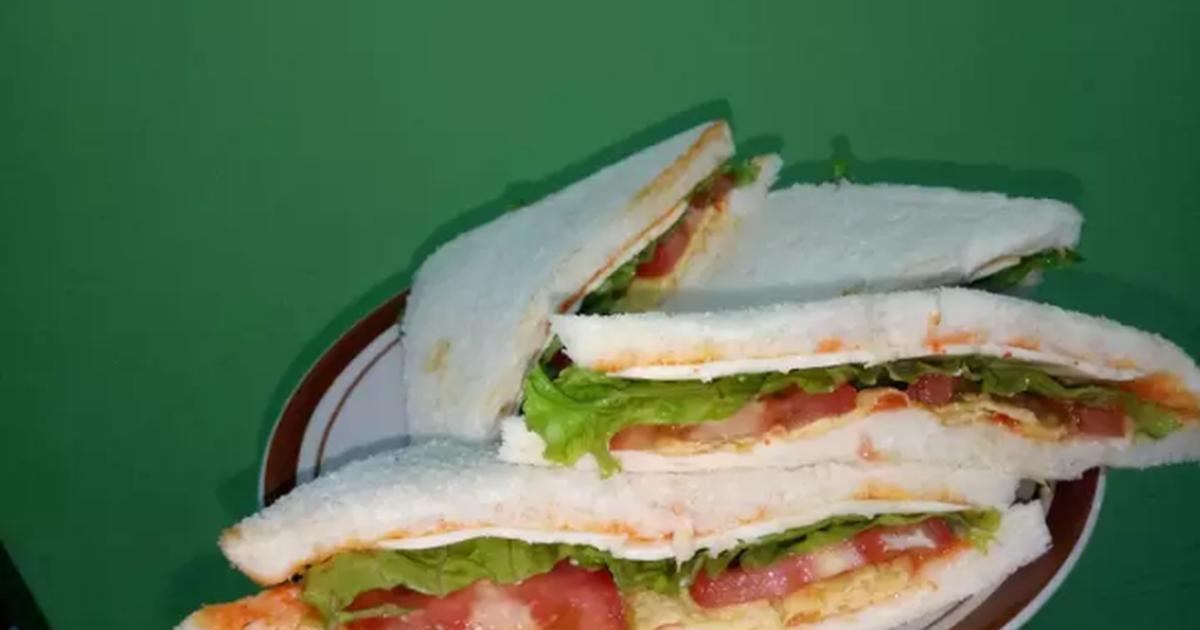 Resep Sandwich Sehat Dan Sederhana Bekal Anak Oleh Cyntia Sofia Ningrum Resep Roti Lapis Resep Sandwich Resep