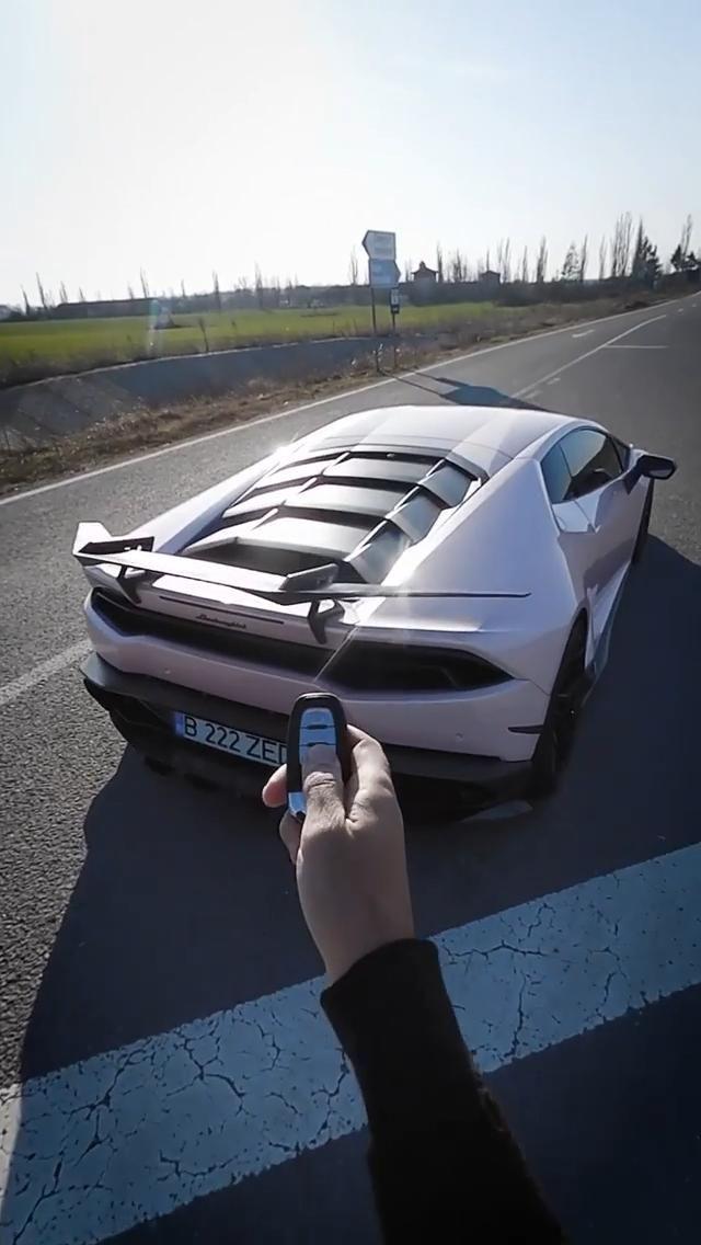 Taking a ride in my dream car