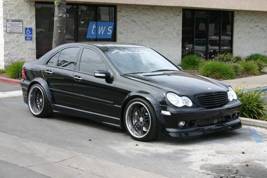 W203 Tuning 7 Tuning Mercedes Benz C280 Mercedes Benz Cars Custom Mercedes