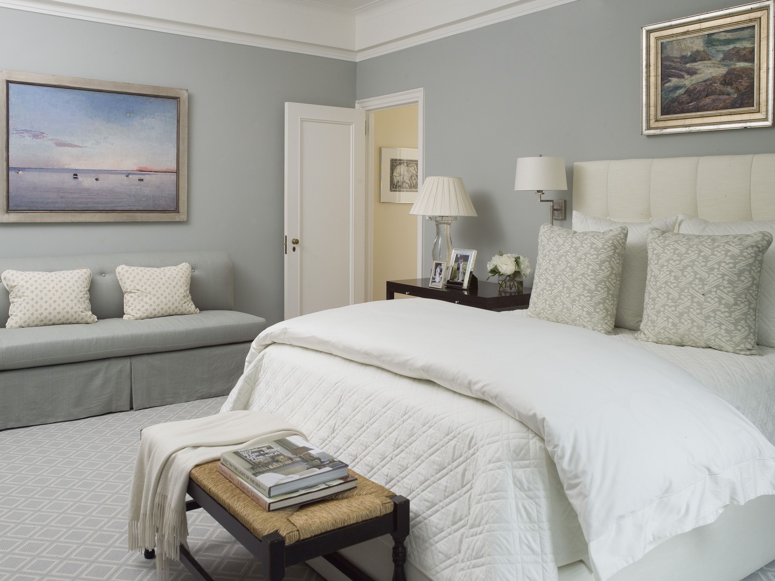marvelous relaxing bedroom decorating ideas | calming bedroom....lamps and swing arm sconces....mrs ...