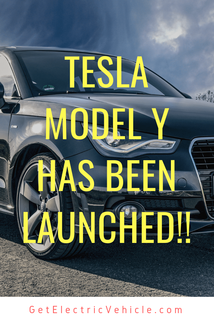 Tesla Model Y Electric Car Has Been Launched Tesla Model Electric Cars Tesla