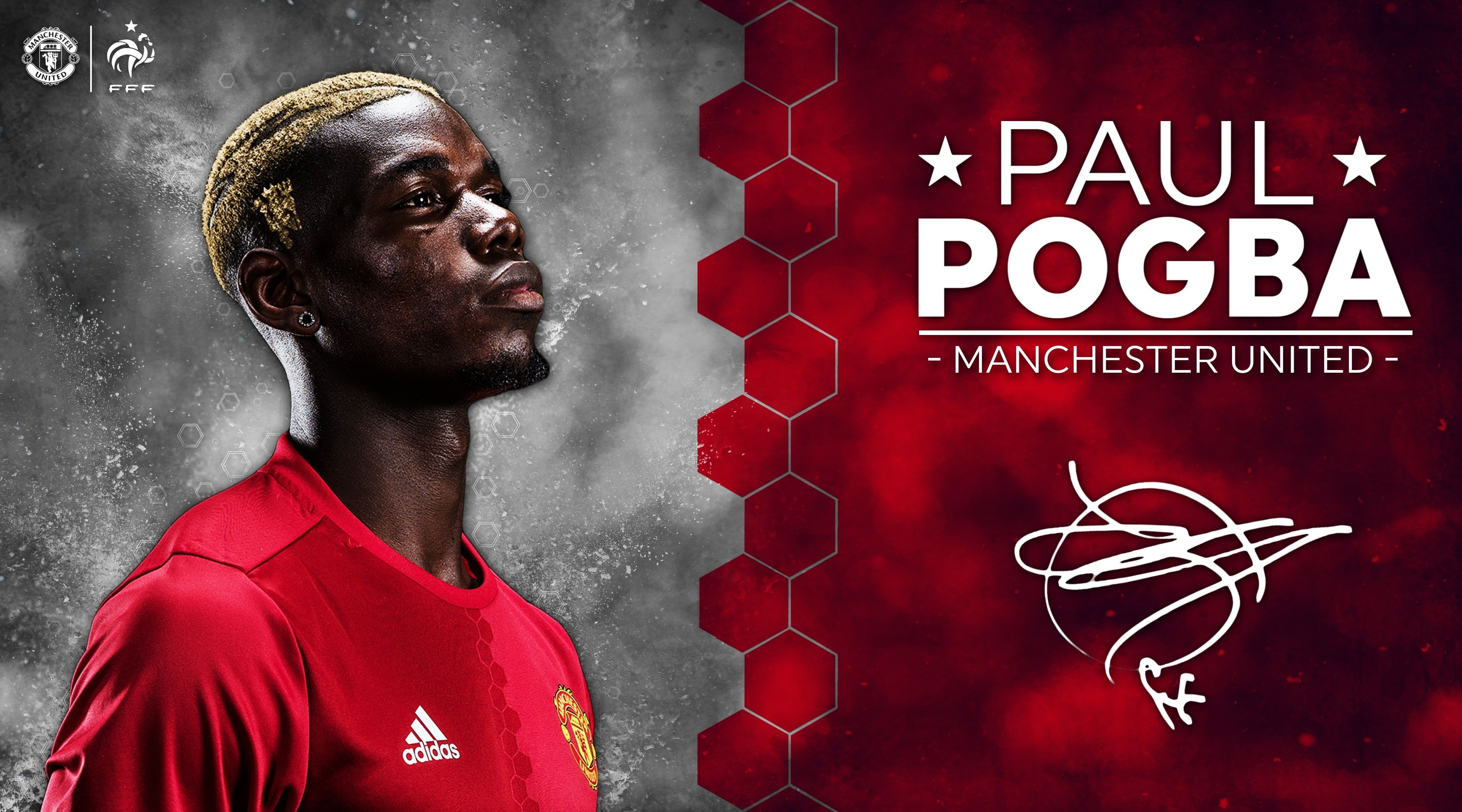 Paul Pogba Manchester United 2016 17 Paul Pogba Sports Football 4k Wallpaper Hdwallpaper Manchester United Paul Pogba Manchester United Pogba Manchester