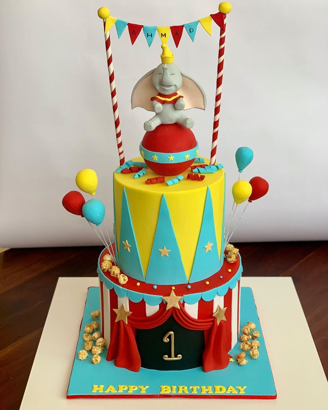 كيك عيد ميلاد دامبو كيكه فيل دامبو الامارات Dumbo Birthday Cake In Abu Dhabi Uae Customized Kids Birthday C Dumbo Cake Girl Baby Shower Decorations Cake