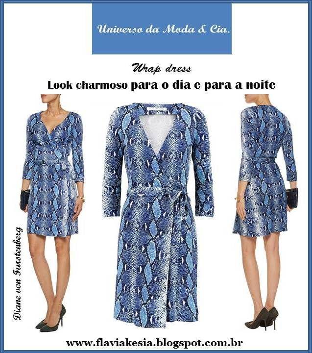 38a7e3aba Wrap dress (vestido envelope) é um modelo de vestido atemporal, que deixa a  silhueta elegante e veste bem em diversas ocasiões. Mais detalhes, confira  no ...