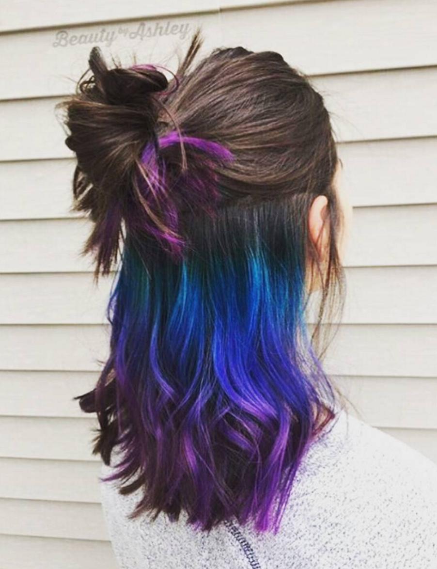 """Underlights sind DIE Lösung für alle, die bunte Haare wollen, aber einen """"seriösen"""" Job haben – Très Click"""