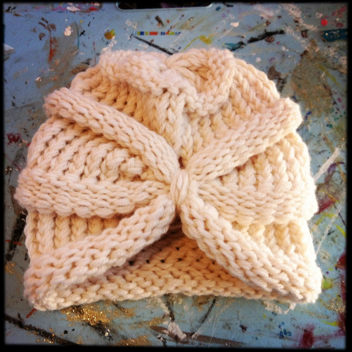 Loom Knit Turban (I couldn\'t find the link for this but wanted to ...