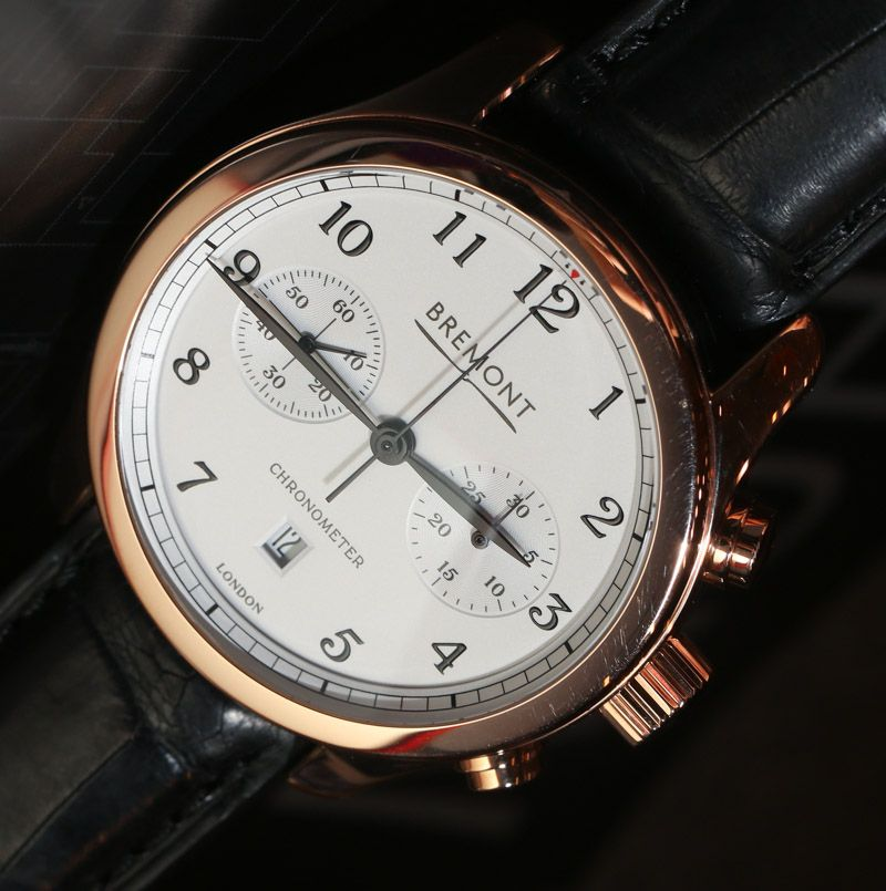 Bremont Alt1 C Gold Watch Hands On Ablogtowatch Watches For Men Gold Watch Watches