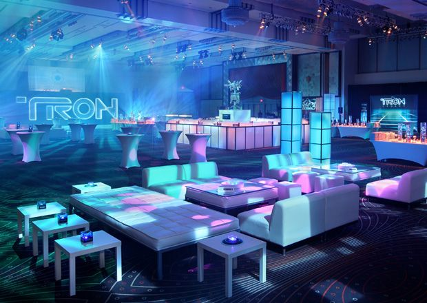 Tron Legacy Party Tron In 2019 Futuristic Party