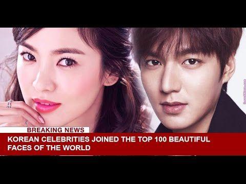 Korean Celebrities World S Top 100 Most Beautiful Faces Of 2016 World S Top 100 Most Beautiful Faces Top Korean Celebrities Most Beautiful Faces Beautiful Face