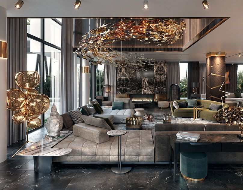 Mid Century Modern Country Living Warm Country Living Room Modern French Country Livin Luxury Living Room Luxury Interior Design Luxury Living Room Design