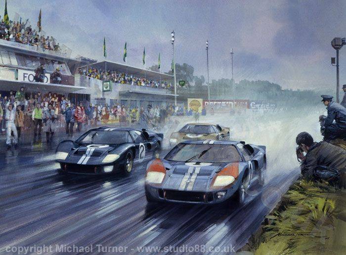 1966 le mans finish peintures bd affiches pinterest. Black Bedroom Furniture Sets. Home Design Ideas