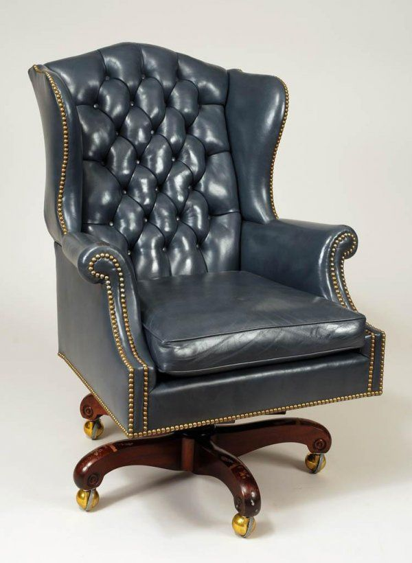 Leather Desk Chair Executive King Leather Office Chair