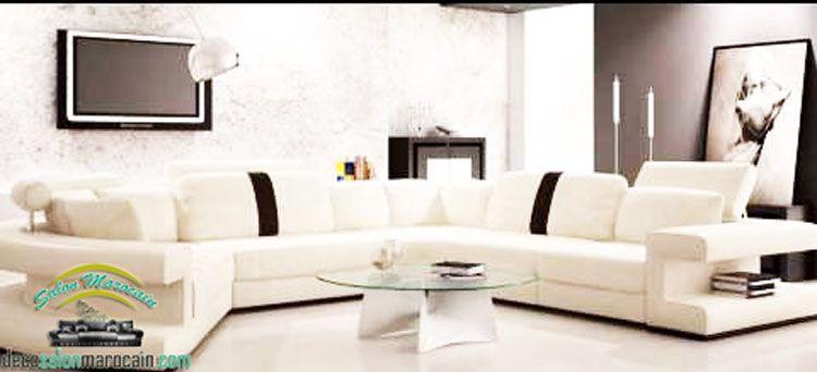 Salon marocain canapé 2015   interior design   Pinterest   Salons ...
