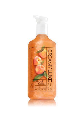 Peach Bellini Deep Cleansing Hand Soap Bath Body Works