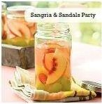 Sangria and sandals party
