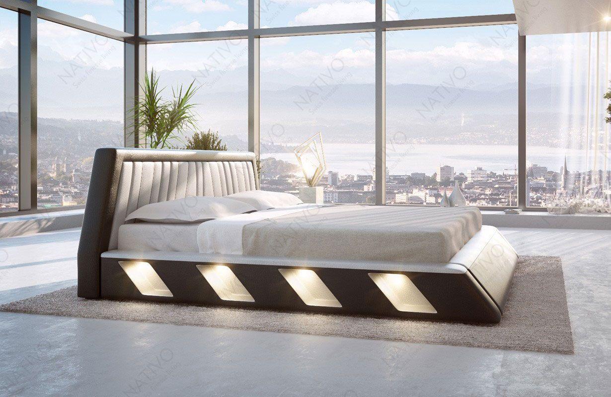 Design bed LENOX met LED verlichting | NATIVO™ design bedden | Pinterest
