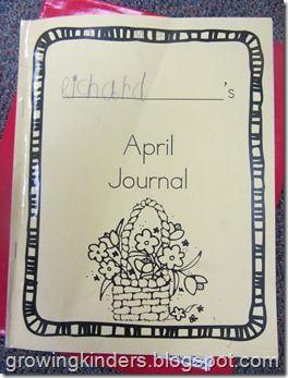 Growing Kinders: Loving to Write!