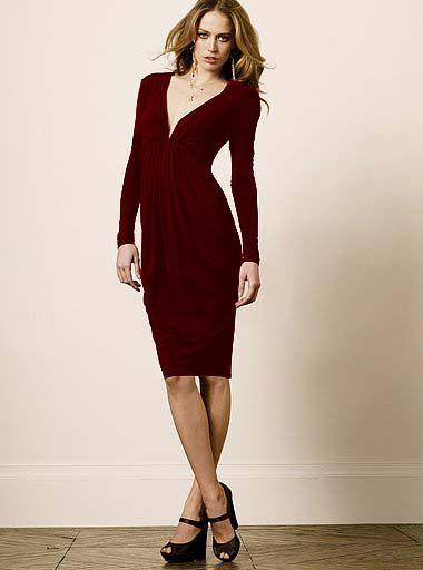 Victoria S Secret Bordowa Sukienka Tulipan M L 3793256247 Oficjalne Archiwum Allegro Jersey Dress Long Sleeve Dress Dresses With Sleeves